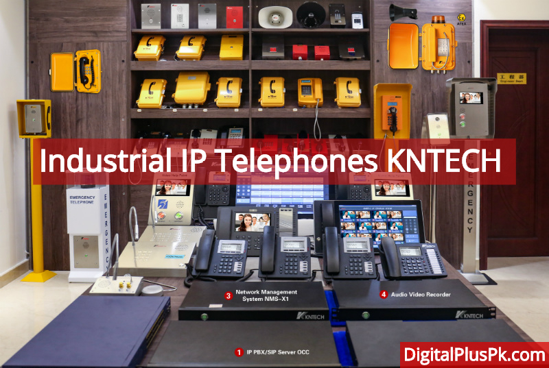 Industrial IP Telephones KNTECH in Pakistan
