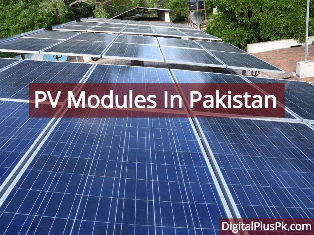 PV Modules In Pakistan